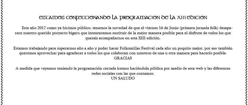 festival folkomillas programa 2017