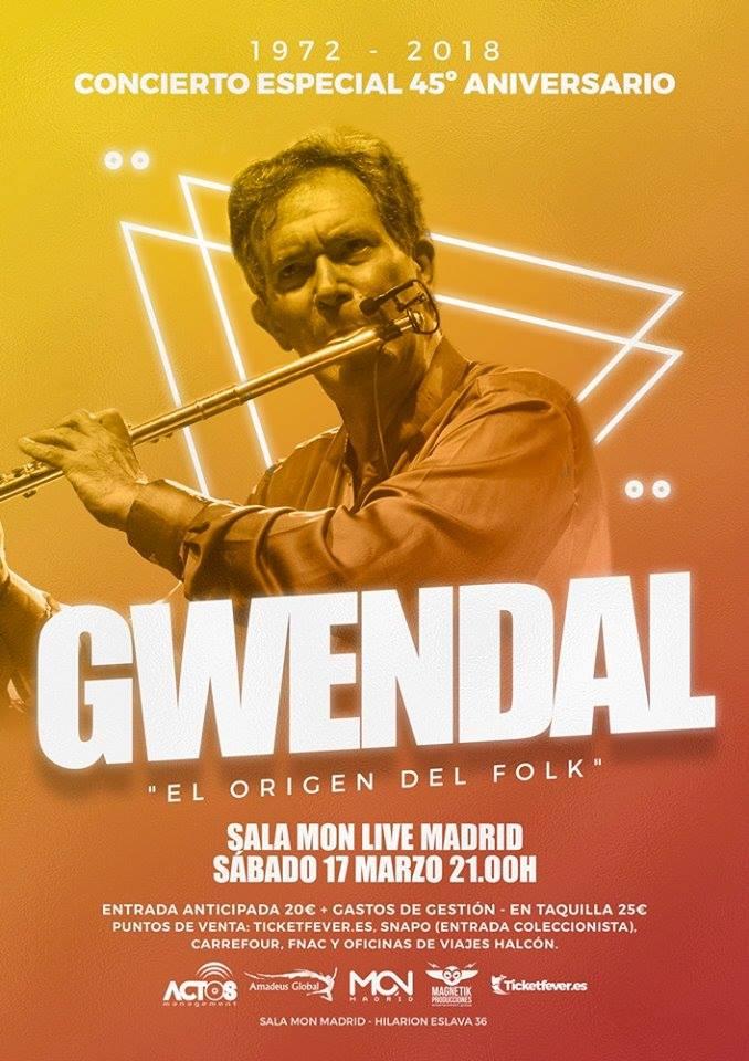 Concierto Gwendal Madrid