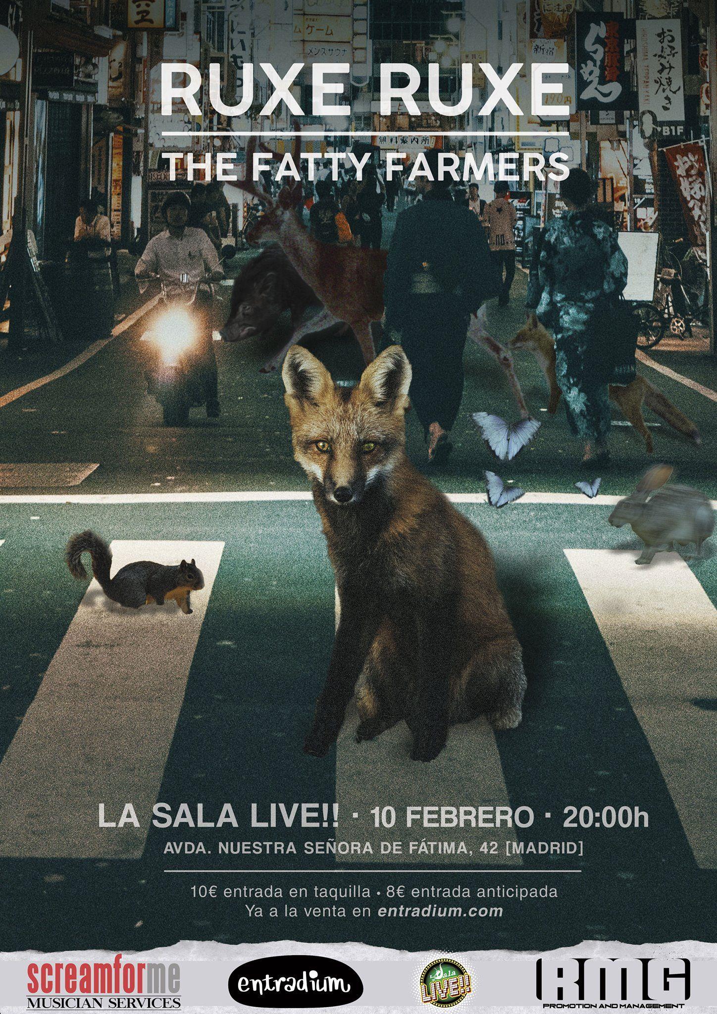 Ruxe Ruxe + The Fatty Farmers