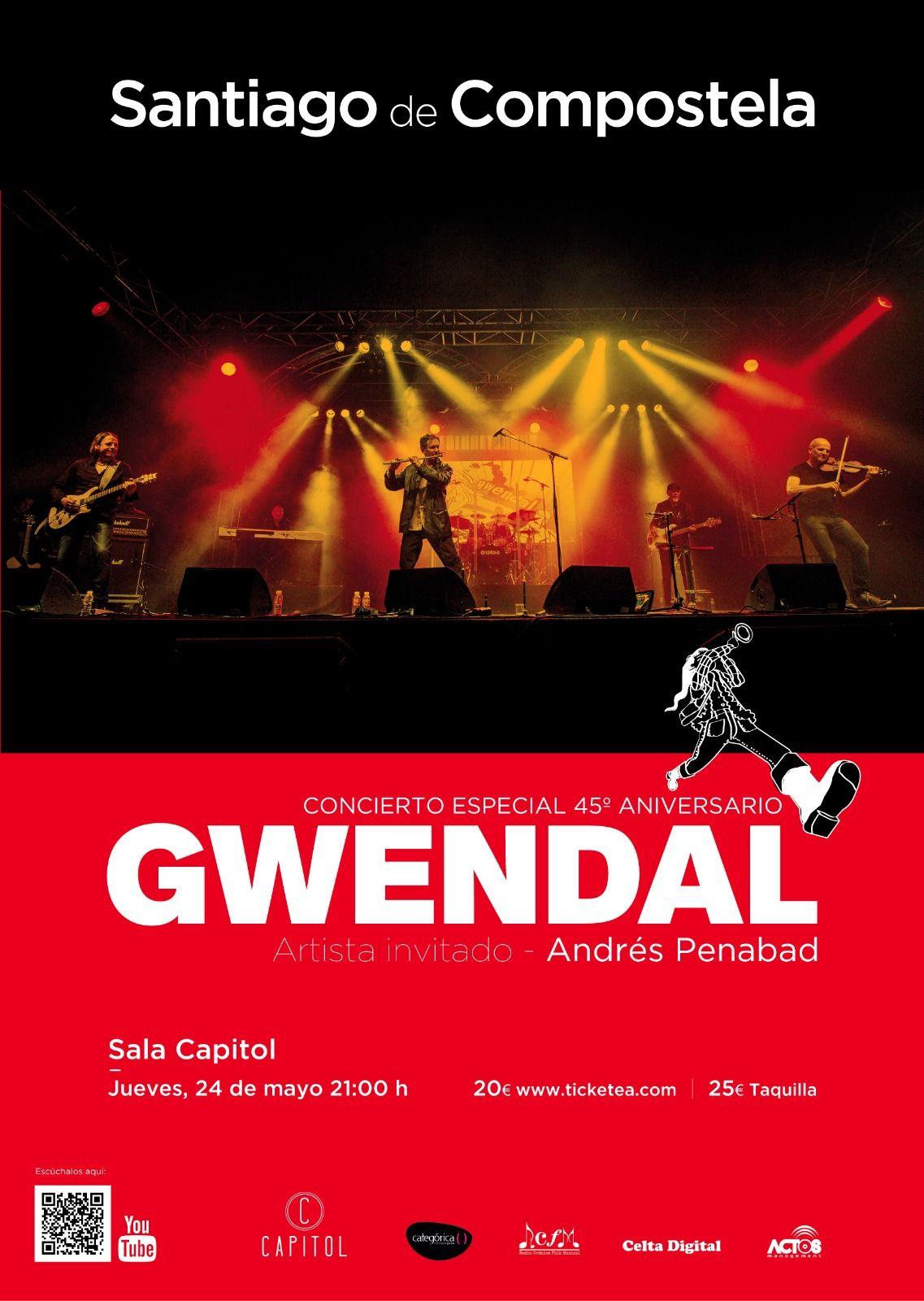 Gwendal concierto santiago de compostela