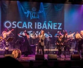 Oscar Ibañez tribo