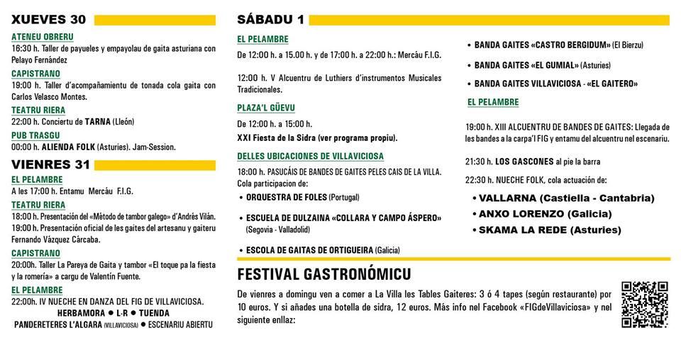 festival internacional de la gaita asturias