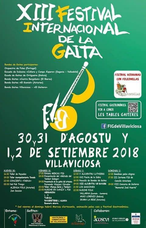 festival internacional de la gaita villaviciosa