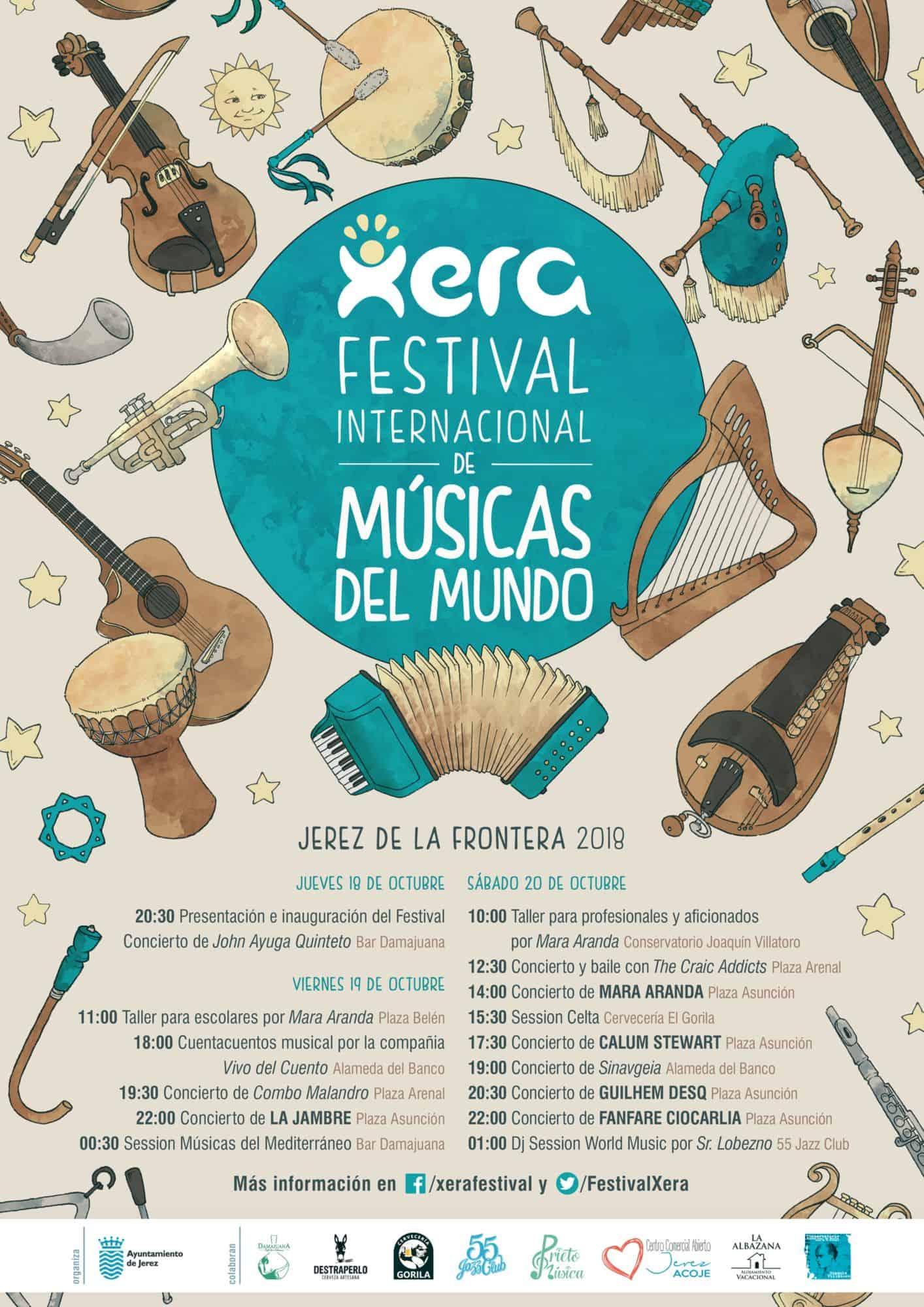 artel Xera Festival de Músicas del Mundo
