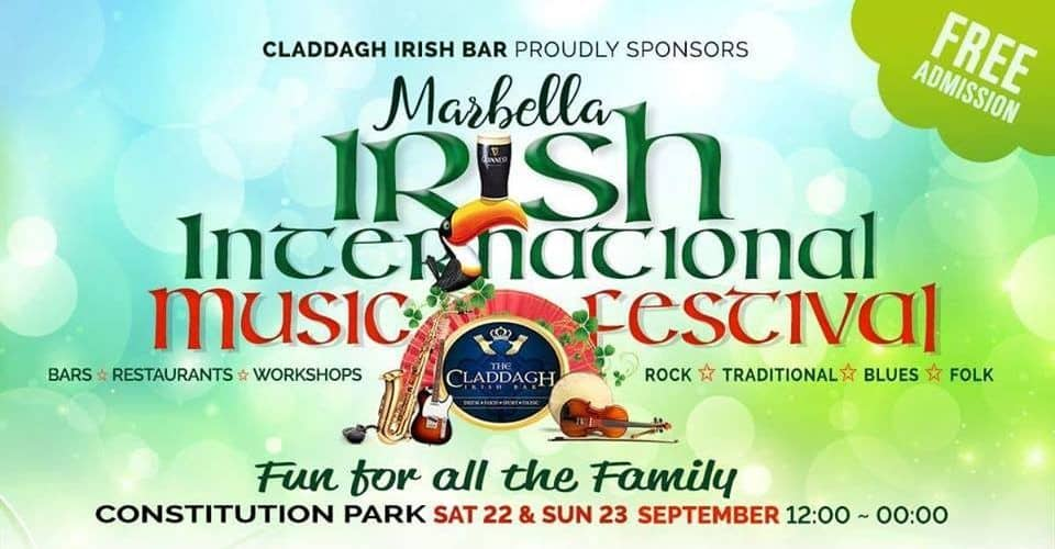 irish international musica festival marbella