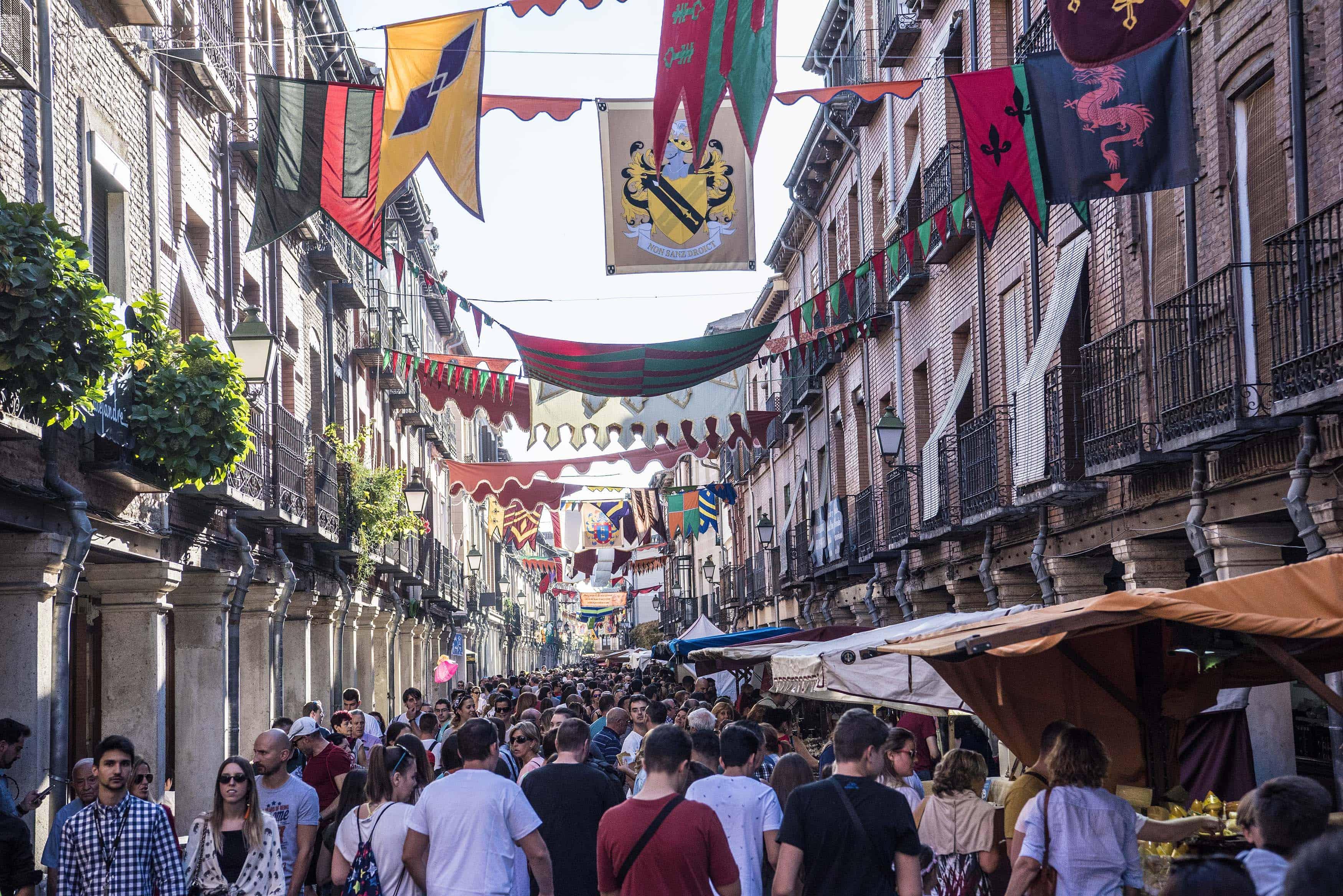 mercado medieval alcala de henares