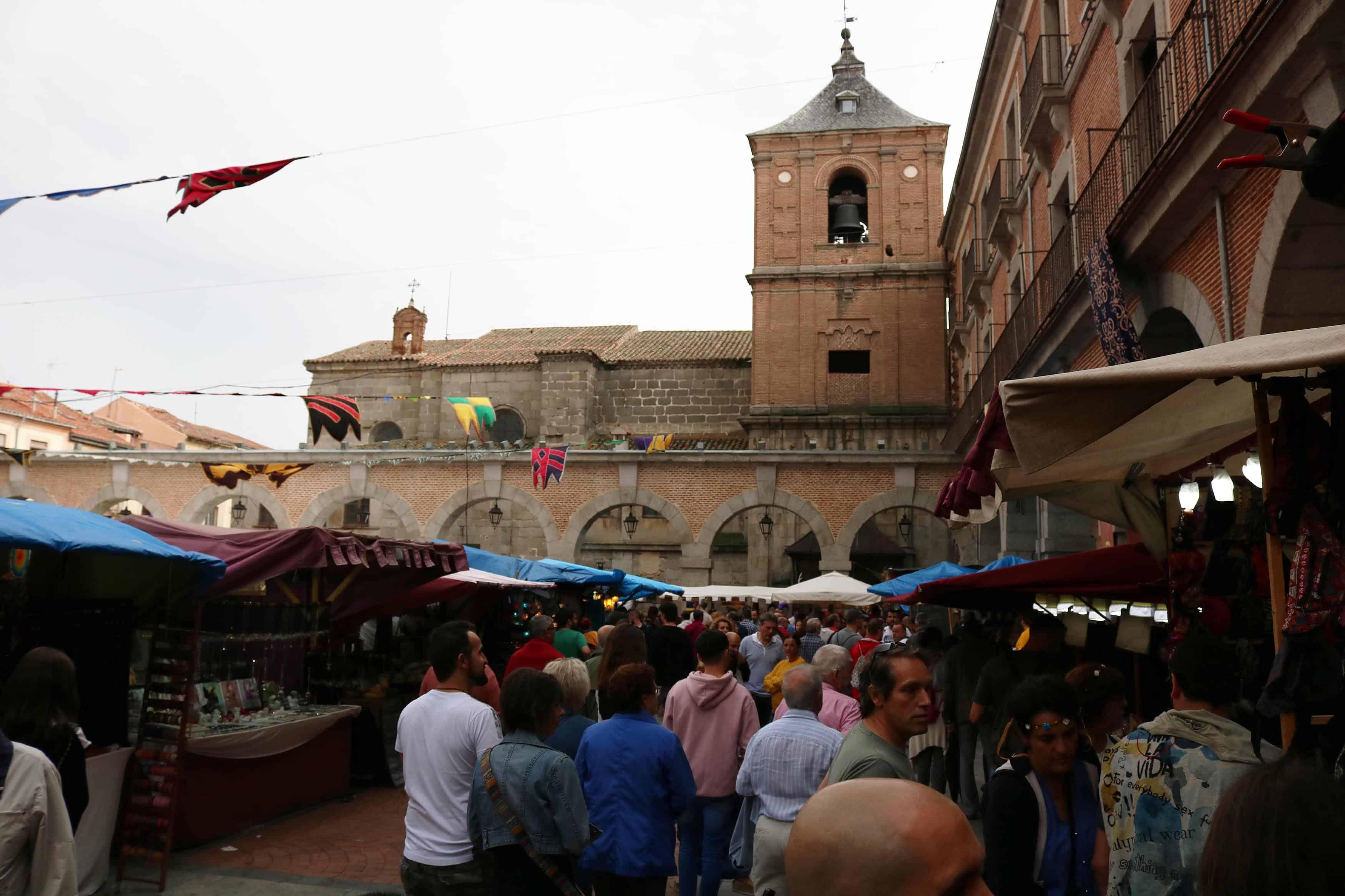 mercado medieval avila
