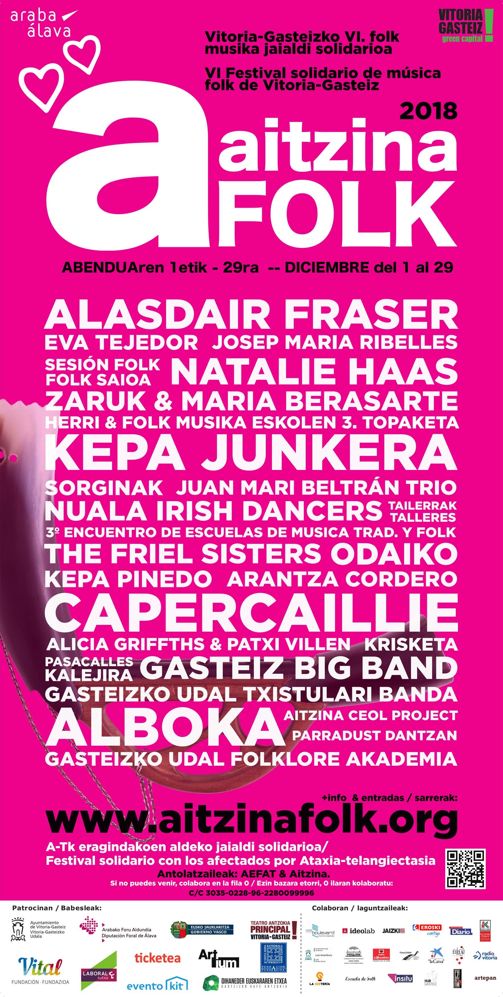 aitzina folk 2018 cartel