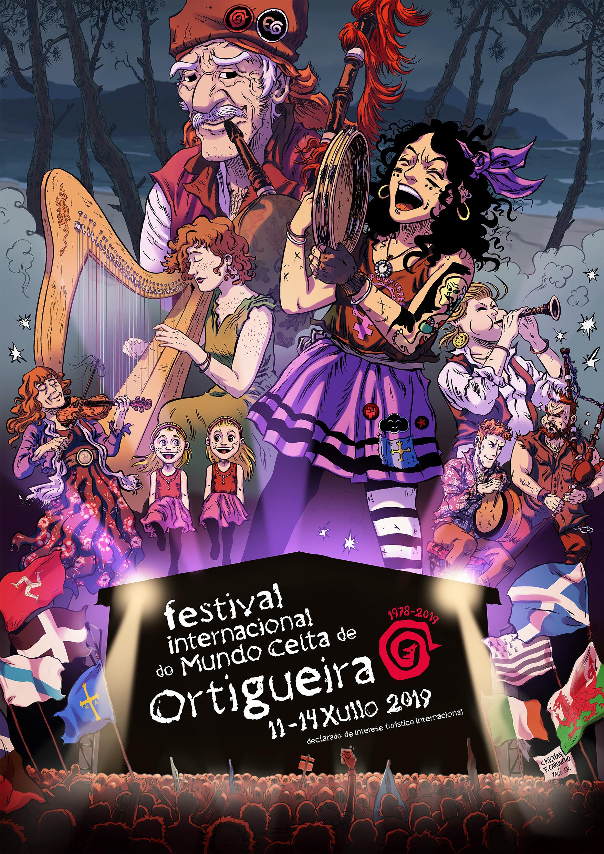 flyer - Festival Ortigueira 2019