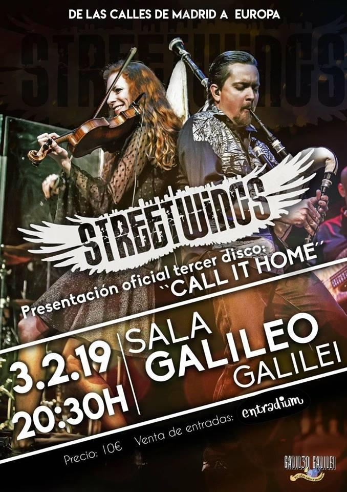 street wings concierto