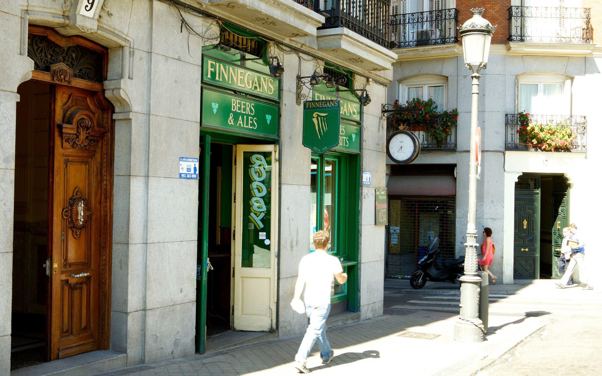 bares irlandeses madrid centro