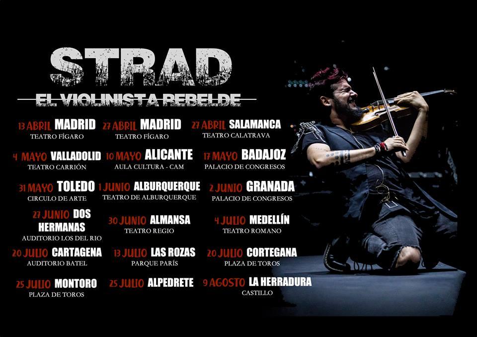 violinista rebelde conciertos