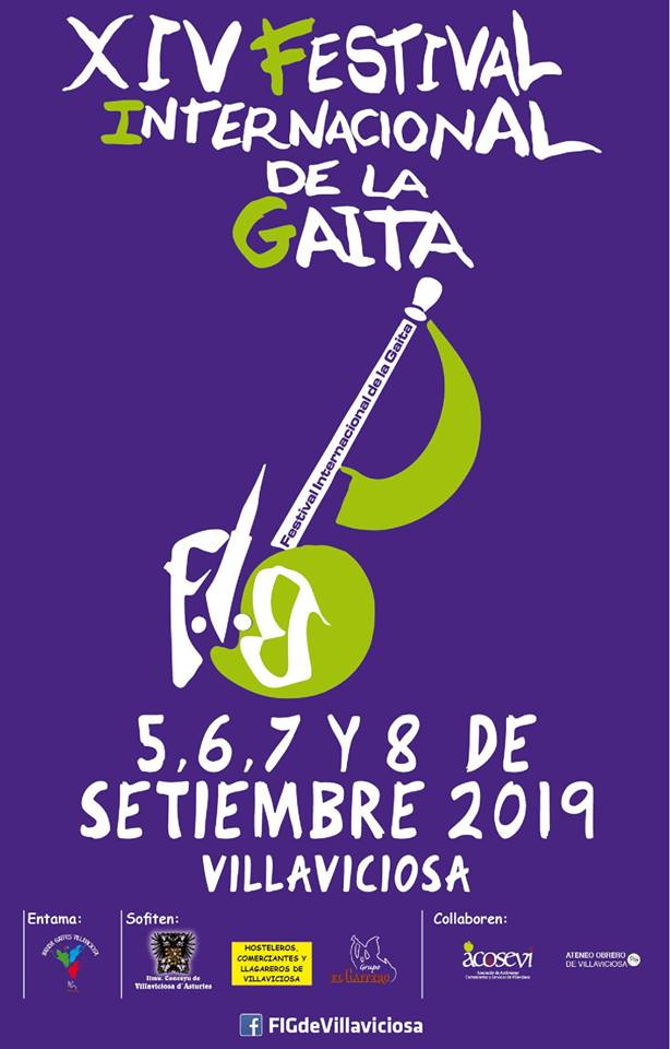 cartel festival gaita villaviciosa