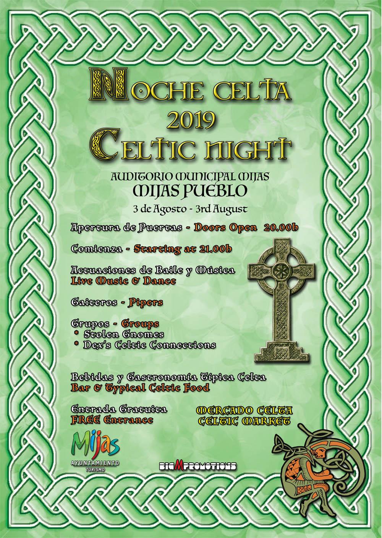 noche celta mijas