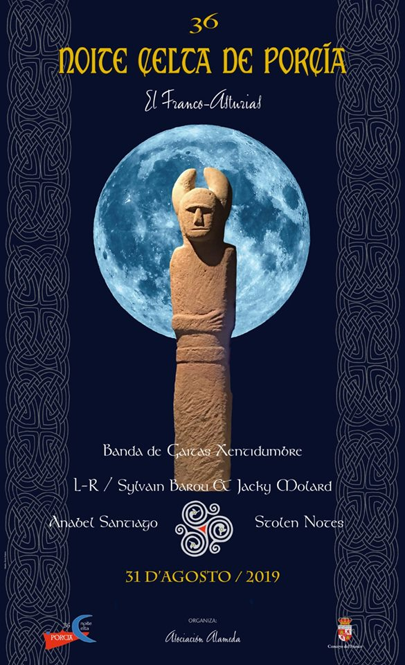 Noite Celta Porcía cartel