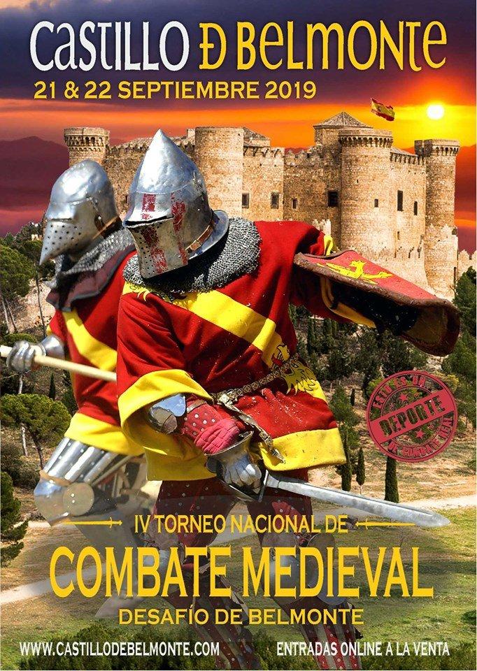 castillo de belmonte combate medieval