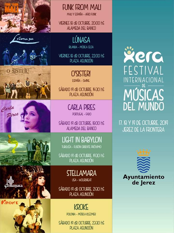 xera festival jerez horarios
