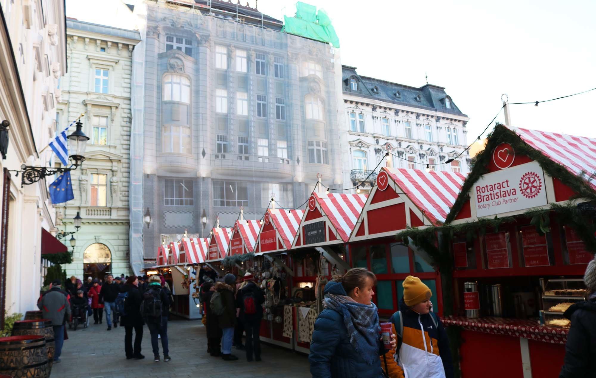 bratislava mercado de navidad