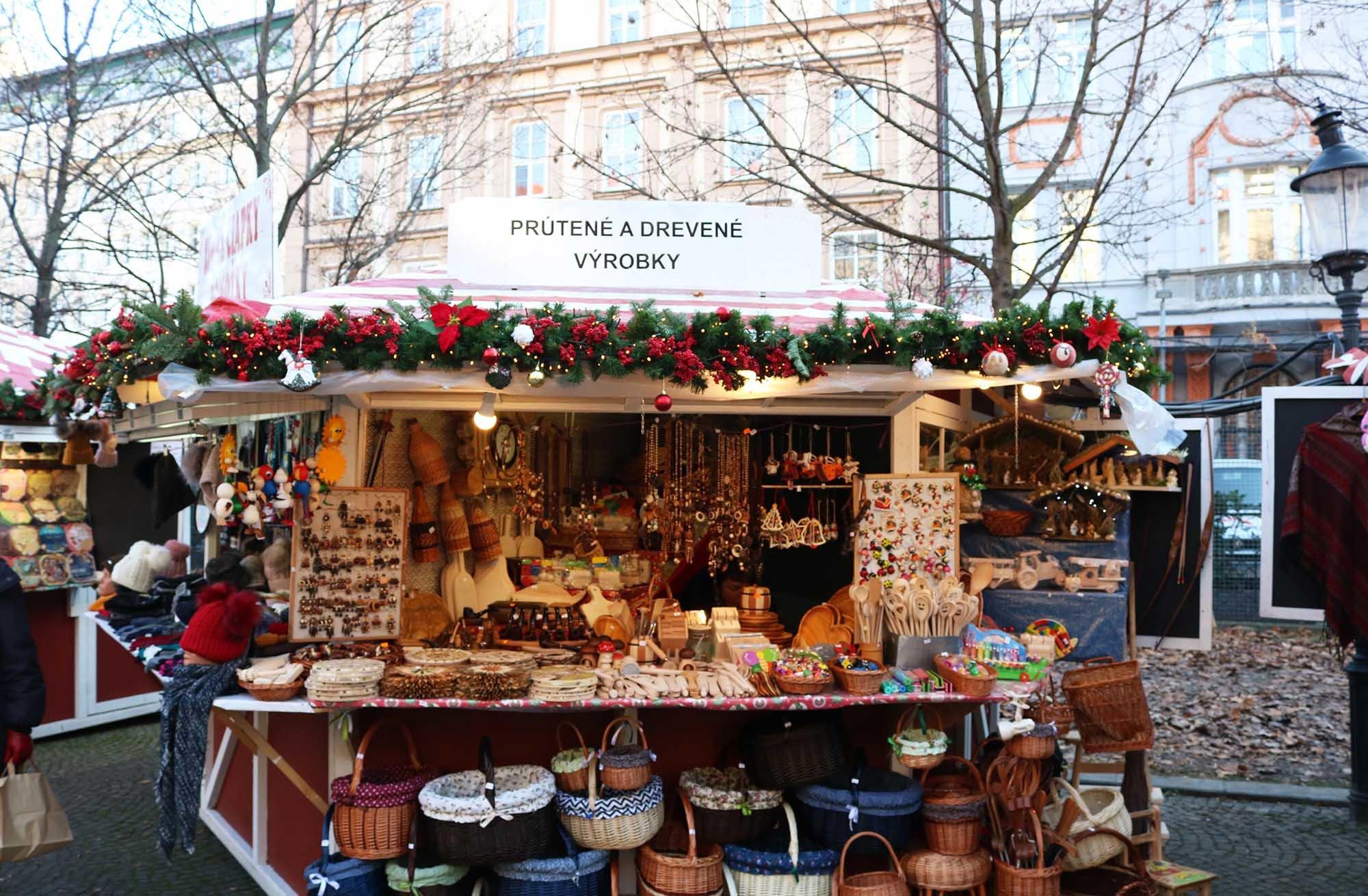 mercadillo navideño bratislava