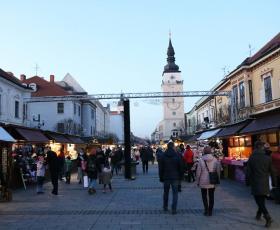 Trnava eslovaquia mercado