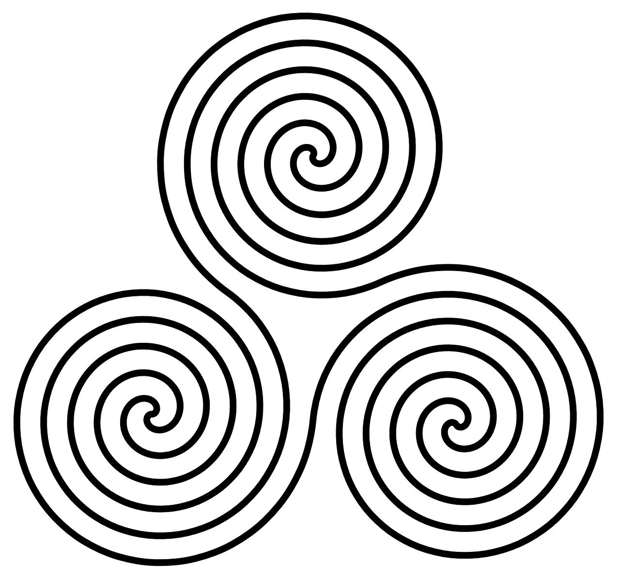 celtic symbol triskel
