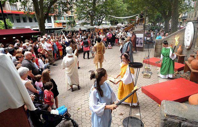 mercado romano santos martires