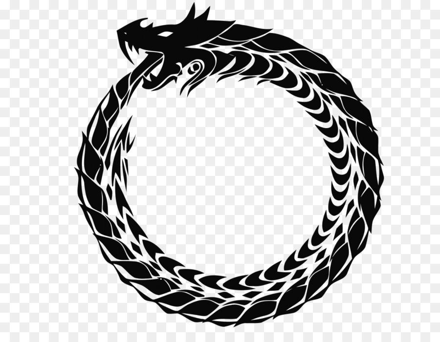 Viking Symbols Jörmungandr