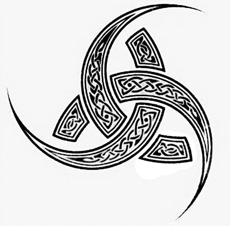 Viking Symbols triskel