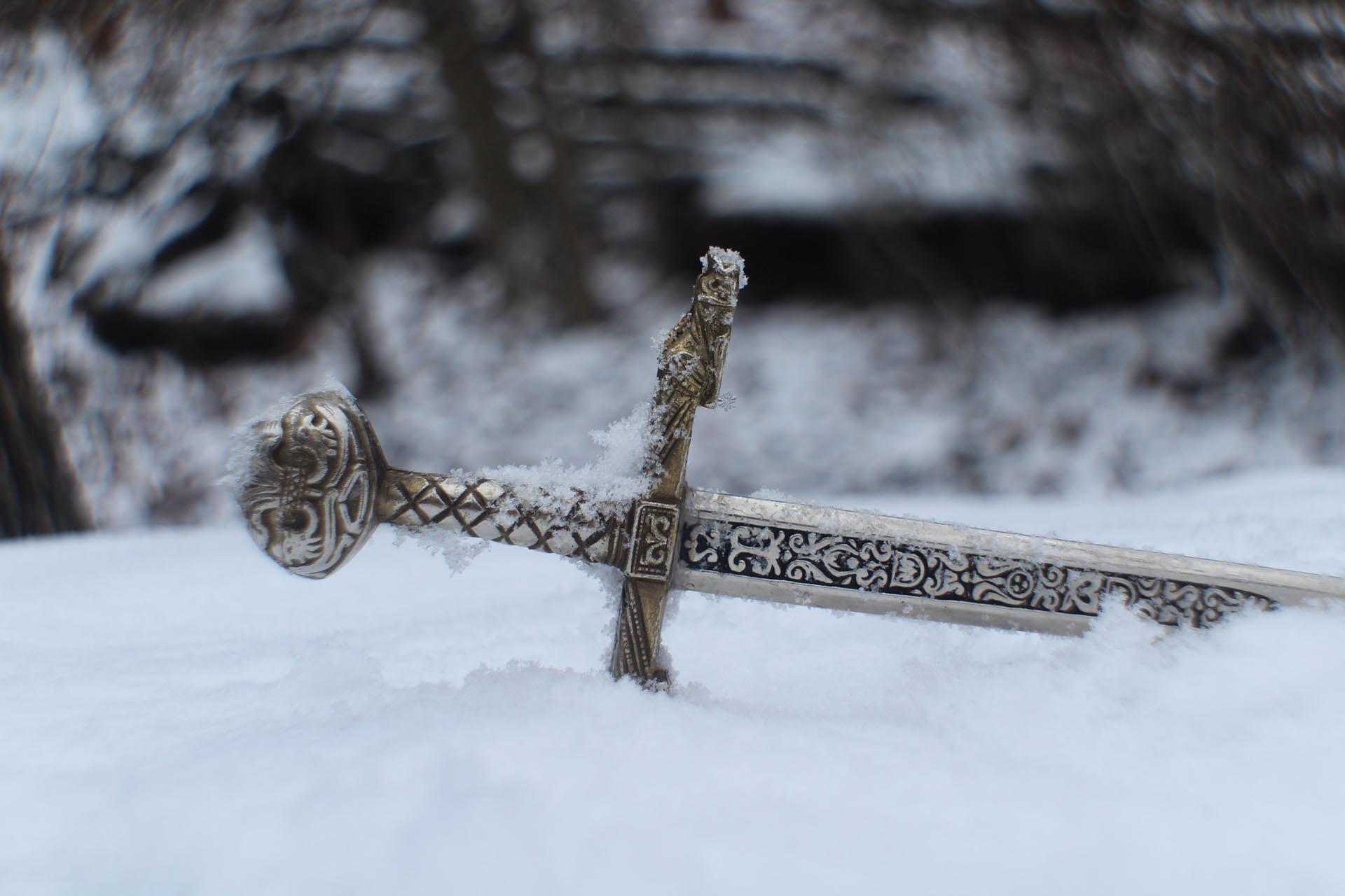 guerreros celtas espada