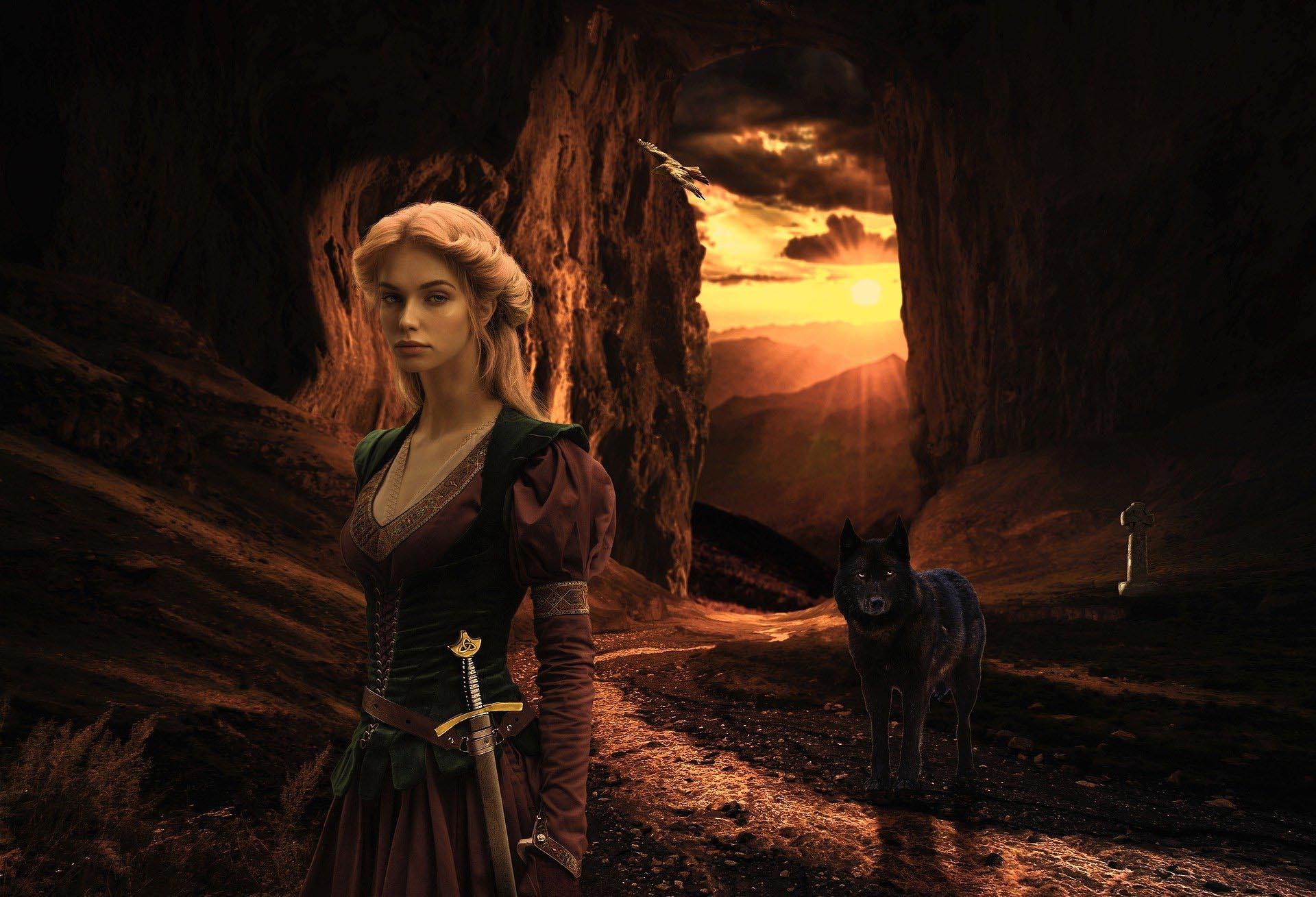mujeres celtas druidas