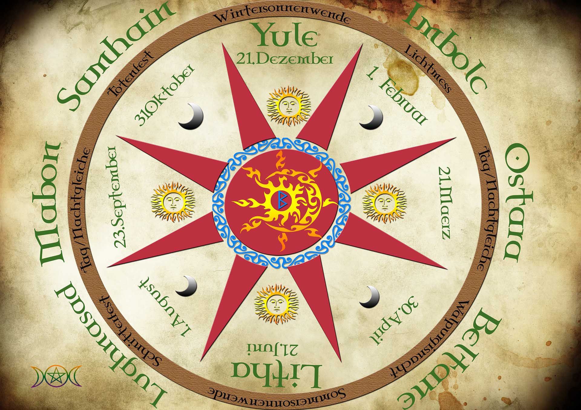 ostara celta fiesta pagana