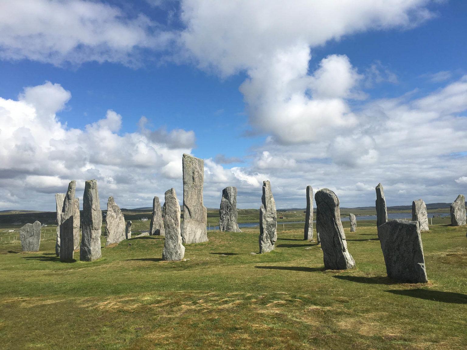 Las piedras de Callanish y Stenness