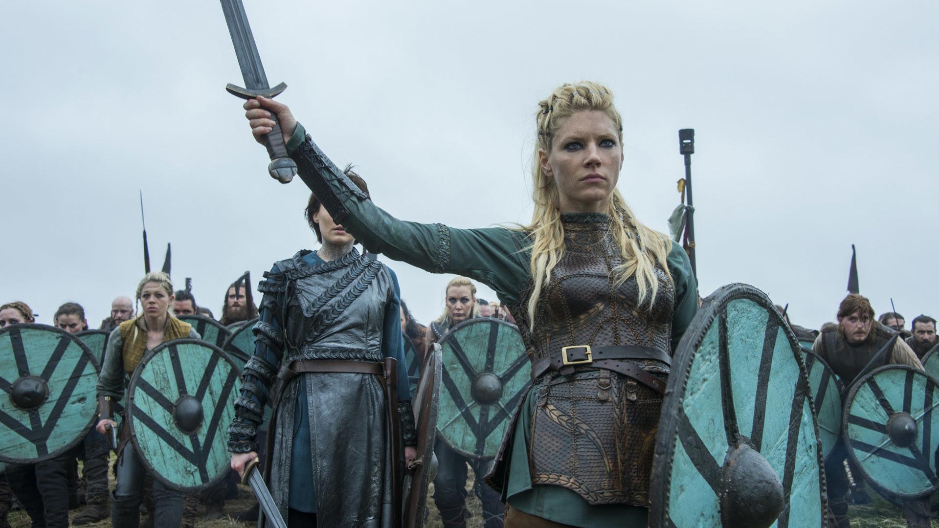 mujeres vikingas personajes
