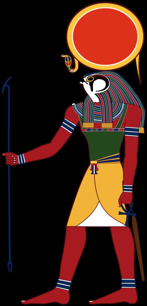 ra dios del sol egipcio