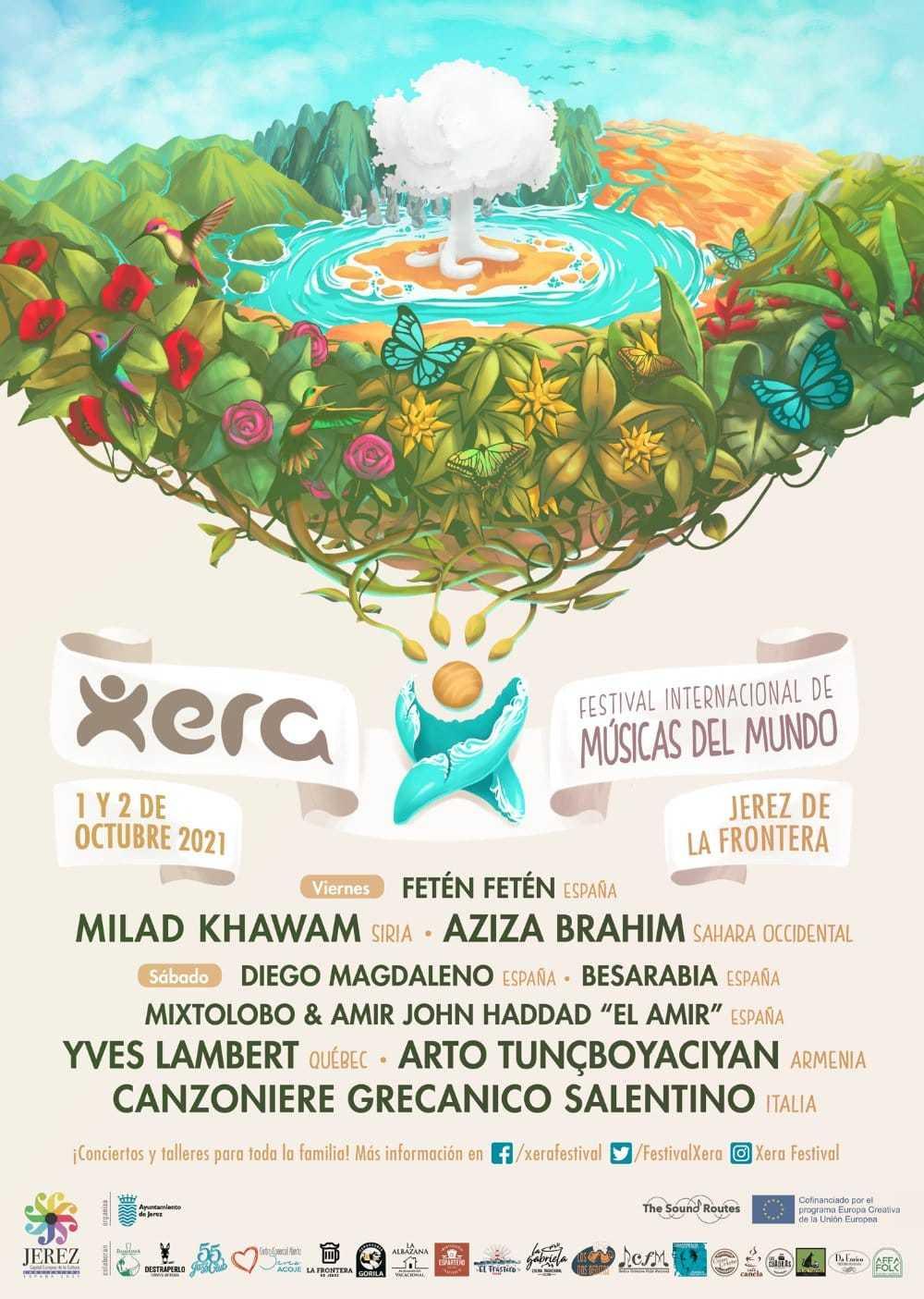 xera festival jerez 2021 cartel